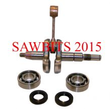 STIHL 023 025 MS230 MS250 CRANKSHAFT WITH SEALS AND BEARINGS 1123 030 0408